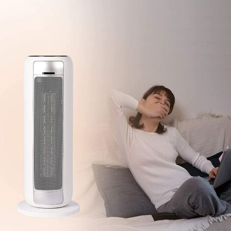Tower Heater with Remote Control Upright/Flatbed Heater Internal Oscillation