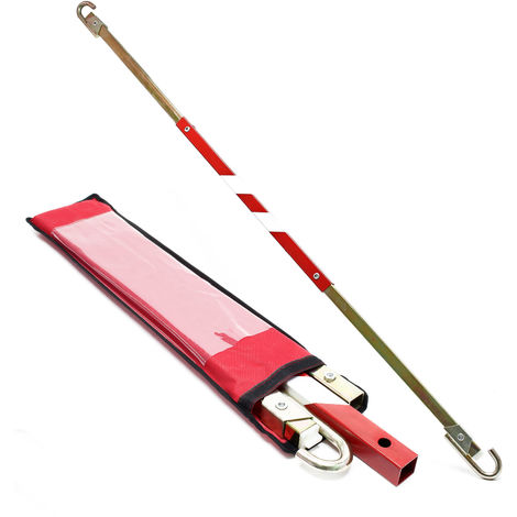 Towing Brace 180 cm up to 2.5 tons Tow Rod Tow Bar Tow Pole Towing Strap Tow Cable Snap-in