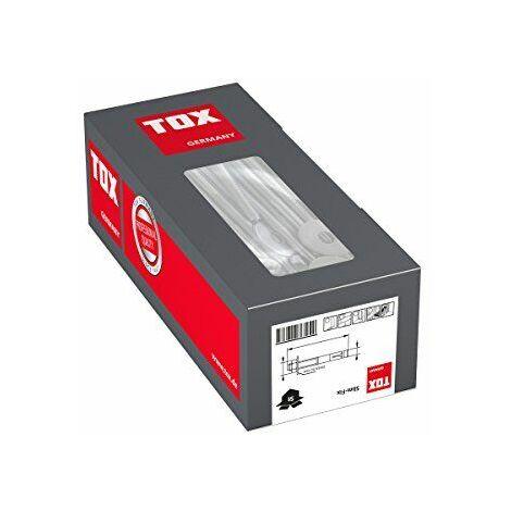 TOX 08010123 Slim-Fix Jeu de 10 chevilles d\'ancrage avec 10 rondelles M16 x 220mm