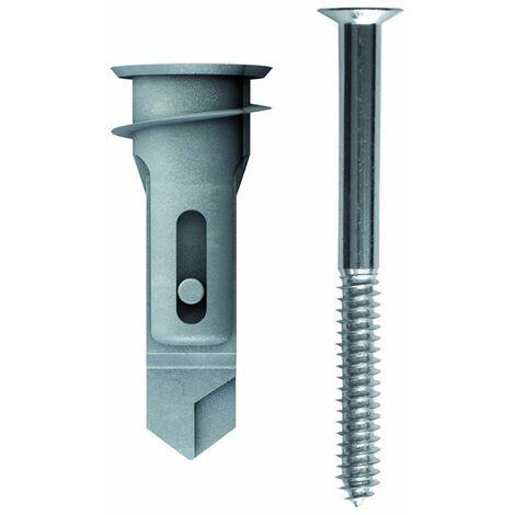 TOX Cheville pour plaques de plâtre Spiral Pro 39-5 + vis, 25 pièces - 68101051