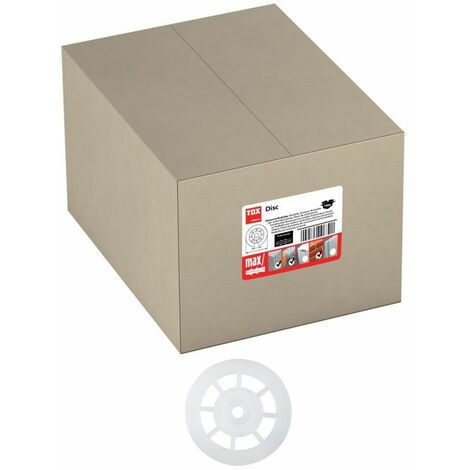 TOX disque pour isolation Disc 75 x 8 mm - 100 pièces