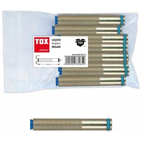 TOX Verbundmörtel-Zubehör Liquix Impact M10x80 mm - 10 Stück - 08410019