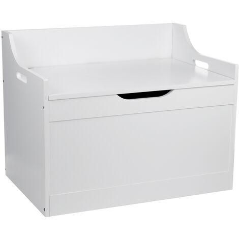 Toy Box Wooden Chest Storage Unit 62X40X46.6cm