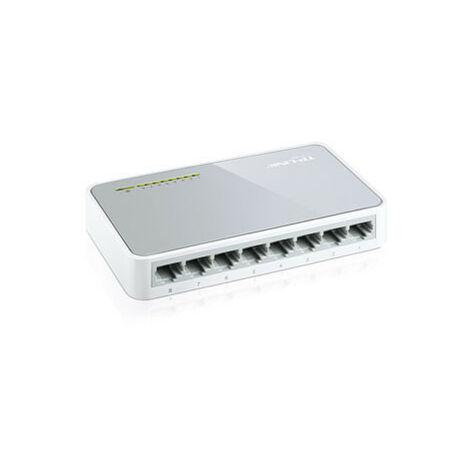 TP-LINK Mini switch TL-SF1008D 8x RJ45 10/100Mbit 8-port (TL-SF1008D)
