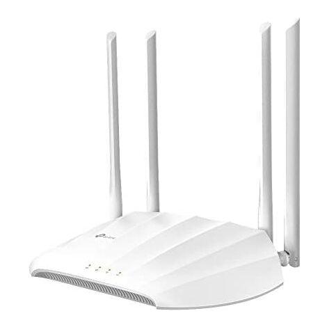 TP-Link TL-WA1201(Nueva versión)- Punto de Acceso inalámbrico/Extensor de Red WiFi (AC1200Mbps, 4 Antenas, Power Over Ethernet, WPS), Blanco