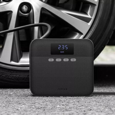 TP03 12V Compresseur de pompe à air Affichage numérique Compresseur gonfleur de pneu de voiture portable noir AU