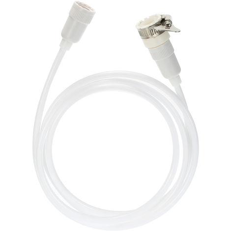 TPU Shower Hose 79In Extra Long Smooth Handheld Flexible Anti-Kink Handheld Shower Head Hose