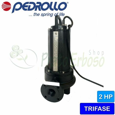 TR 1.5 - sumergible de la Bomba eléctrica con trituradora de tres fases