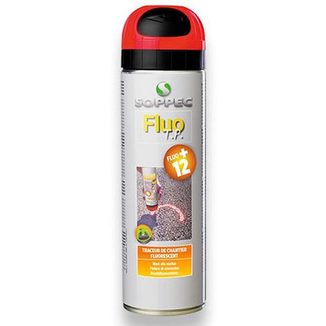 Traceur de chantier fluorescent FLUO TP 500 ml de couleur Vert - 141518O - Soppec - Vert -