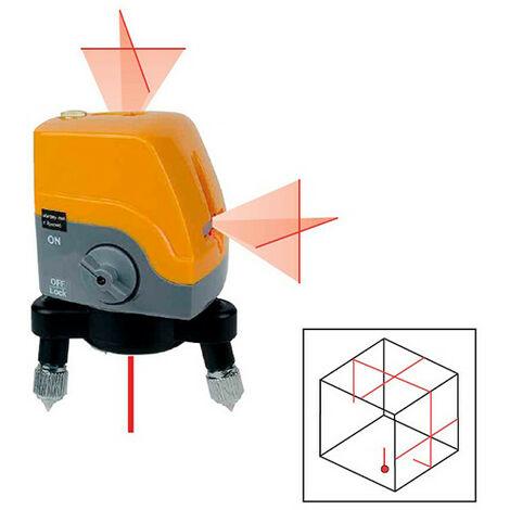 Traceur de lignes automatique 2 lignes verticales, 2 lignes horizontales en croix