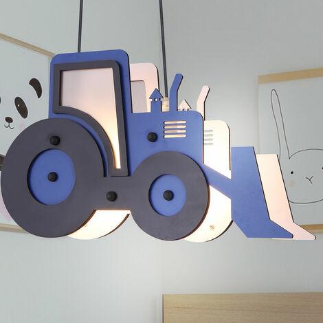 Tracteur lampe suspendue, bleu noir, 120 cm, TOOLIES