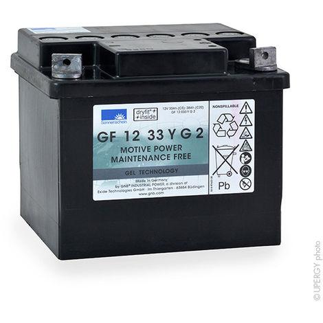 Traction battery SONNENSCHEIN GF-Y GF12033 YG2 12V 32.5Ah M6-M