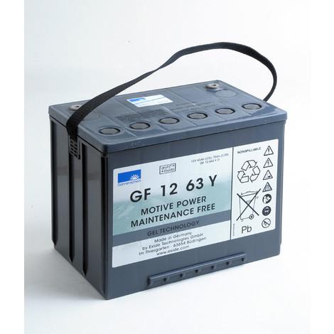 Traction battery SONNENSCHEIN GF-Y GF12063Y0 12V 63Ah M6-F