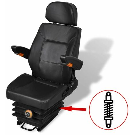 Tractor Seat with Suspension