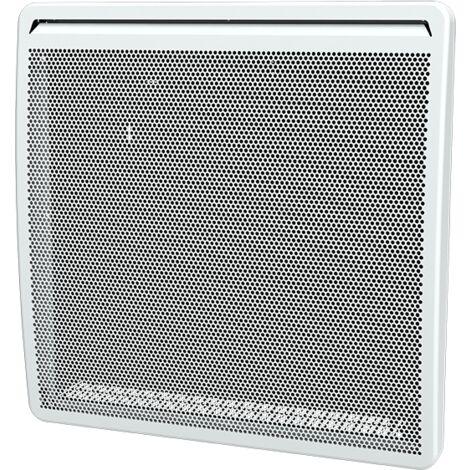 TRACY 1000W panneau rayonnant Anti-salissures - Affichage digital - 9 programmes personnalisables - Blanc