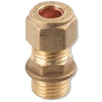 Trade Compression Coupling Male Iron - 22mm x 3/4''