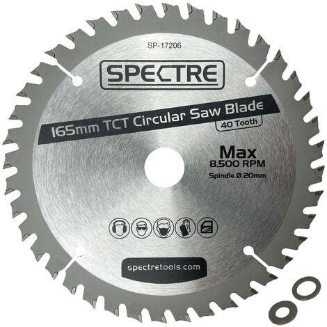Trade Pro Circular Saw Blade 165 X 20 40 Teeth -Fits Makita DSS611 DSS610 DHS680