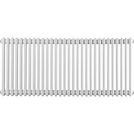 TradeRad Value 2 Column Horizontal Radiator 600mm x 1388mm Central Heating