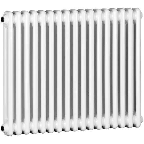 TradeRad Value 2 Column Horizontal Radiator 600mm x 772mm Central Heating