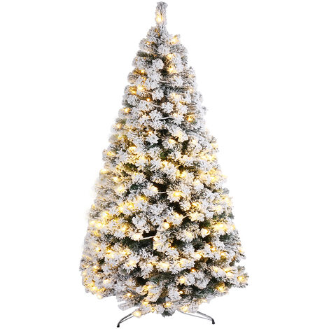 Traditional artificial Christmas tree with LED 180cm