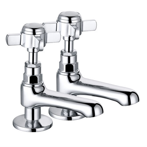 Traditional Basin Tap Chrome