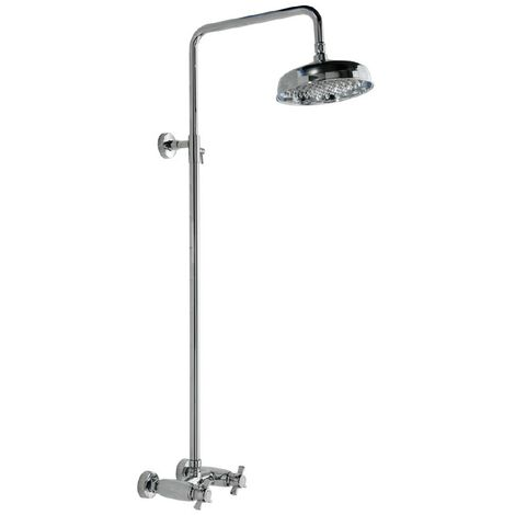 """main image of """"Traditional Chrome Thermostatic Mixer Shower Kit"""""""