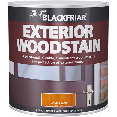 Traditional Exterior Wood Stain