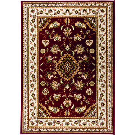Traditional Oriental Classic Design Quality Sherborne Rug in Red