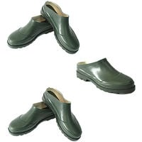 Traditional Slip On Green Waterproof Gardening Clogs/Garden Shoes Size 4