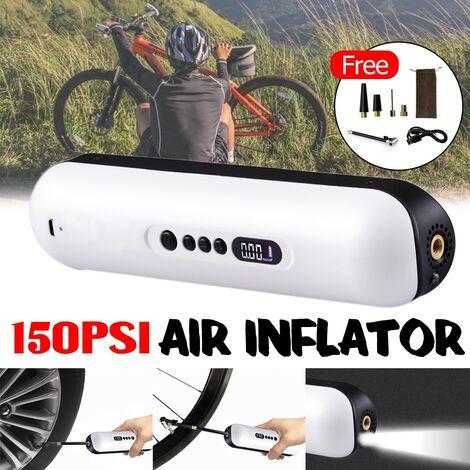 Tragbare drahtlose 12-V-Luftkompressor-Reifenfüller-LCD-Digitalpumpe für das Auto Fahrrad Verbesserte Version