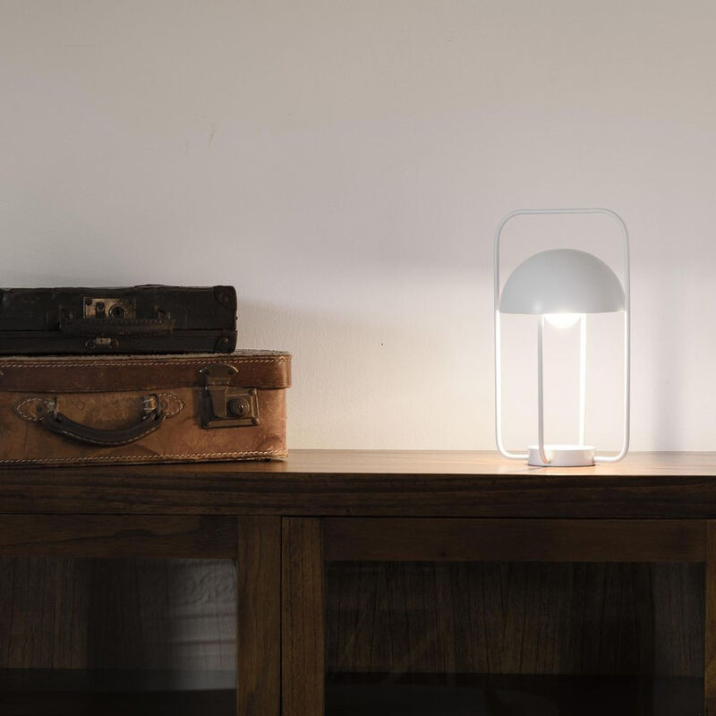 Click-licht.de - Tragbare LED Tischleuchte Jellyfish in Weiß