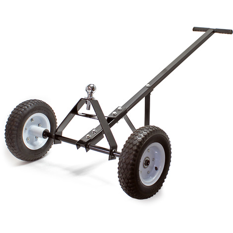"Trailer dolly tow tuff 43.3x28.3x11.8"" (110x72x30cm) with hand grip 590lbs(270kg) camper moving cart"