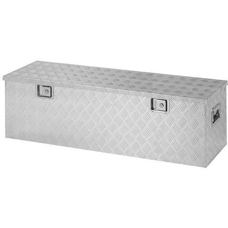Trailer tool box aluminium 1240 x 400 x H380mm