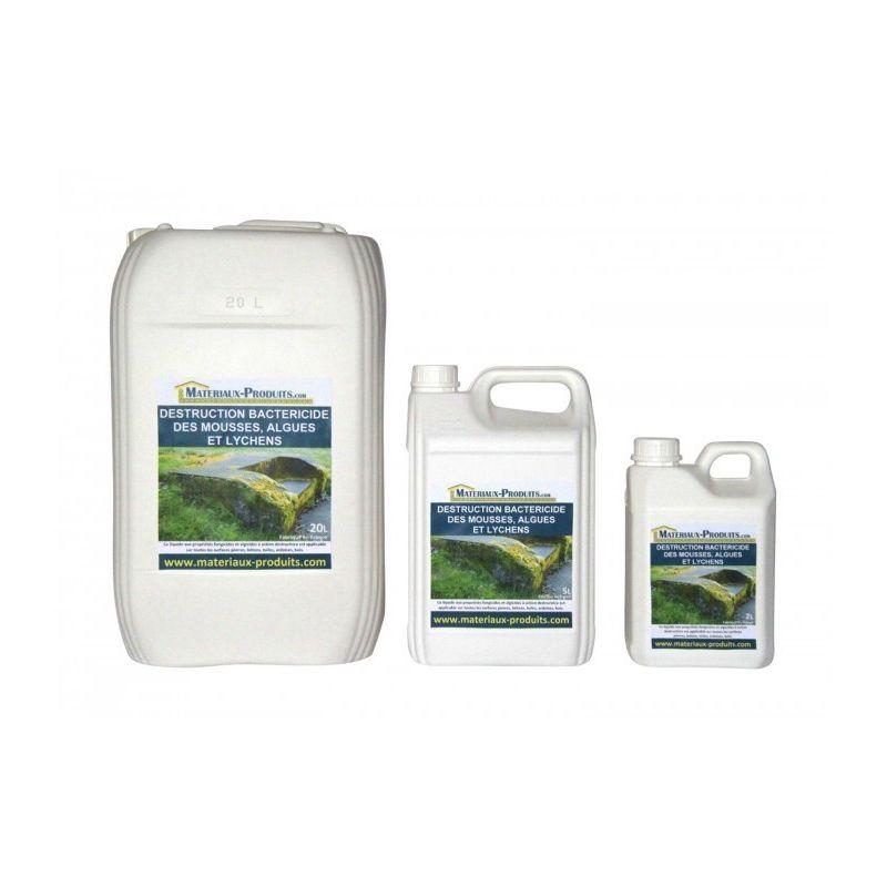 Matpro - Traitement bactéricide des mousses, algues et lichens - 220 L Incolore