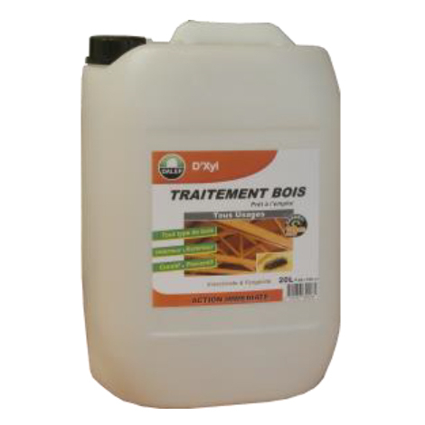 Traitement Bois DALEP Tous Usages Bidon de 20 Litres - 310020