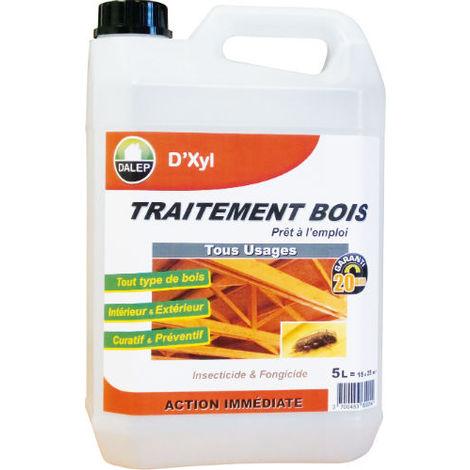 Traitement Bois D'XYL DALEP Tous Usages Bidon de 5 Litres - 310005