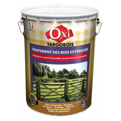 Traitement bois extérieurs Targobois 5L - Brun