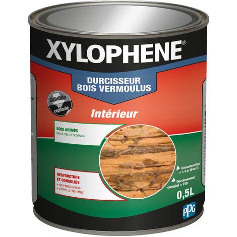Traitement Bois Vermoulus, Incolore, 0,5L, Xylophene - Incolore
