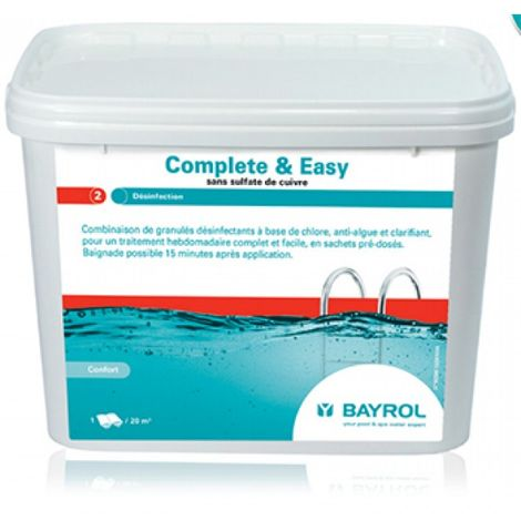 Traitement complet - Complete & Easy Bayol
