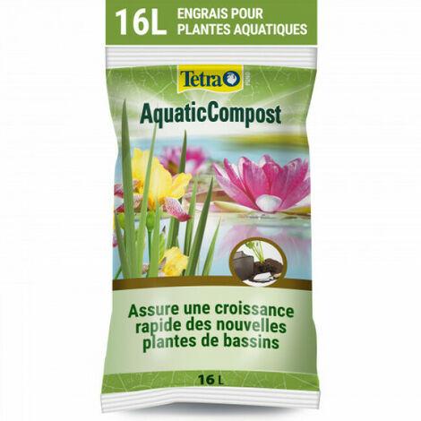 Traitement des plantes Tetra Pond AquaticCompost pour bassin Contenance 16 litres