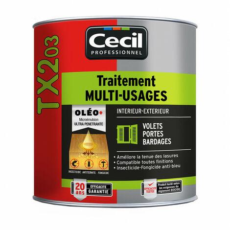 Traitement du bois multi-usages TX203 - Contenant (en L): 1.00