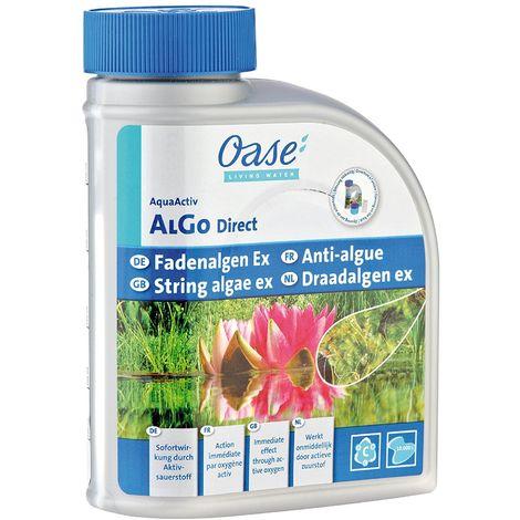 traitement local et rapide des algues filamenteuses - AlGo Direct pour Bassin 500 ml - OASE