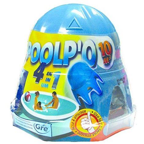 Traitement Mensuel eau de piscine Entretien 4en1 POLPO'O Piscines avec ou sans filtration piscine SPOOL