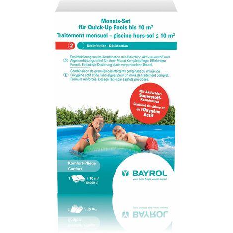 Traitement mensuel - Piscine hors-sol - jusqu\'à 10m3 de Bayrol - Produits chimiques