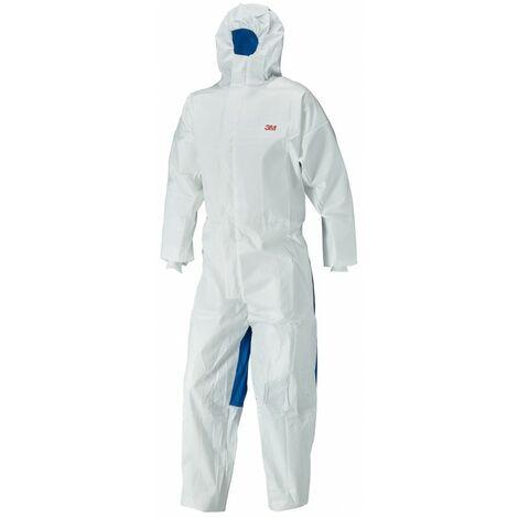 Traje de protección 3M - 4555 - blanco/azul tipo 5/6 Talla S