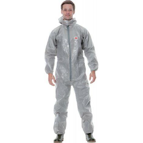 Traje de protección 3M - 4570 gris tipo 3/4/5/6 Talla S