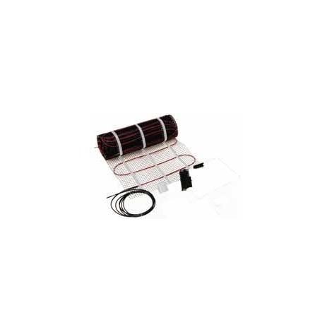 Trame de cable chauffant 1180W 230V trame 15,2m cable 72m avec thermostat TAI61 CONFORSOL DELEAGE 140B0107