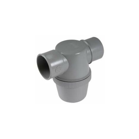 Trampa de botella horizontal de PVC de 40 mm de diámetro