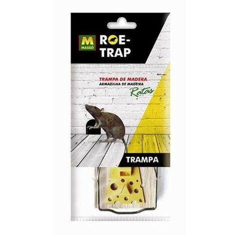 TRAMPA DE MADERA PARA RATAS ROE-TRAP 231592