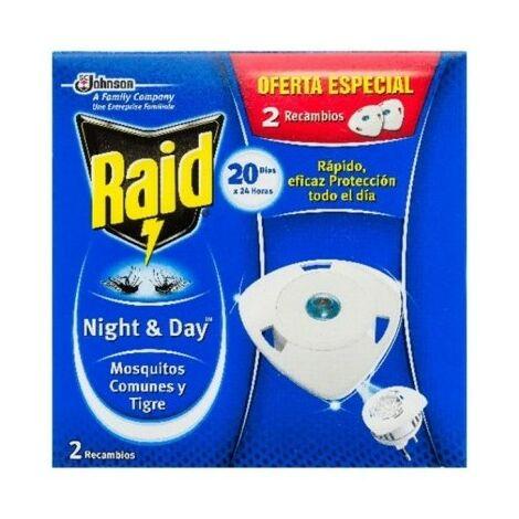 Trampa Mosquitos Electrico Raid Recambio 2 Pz